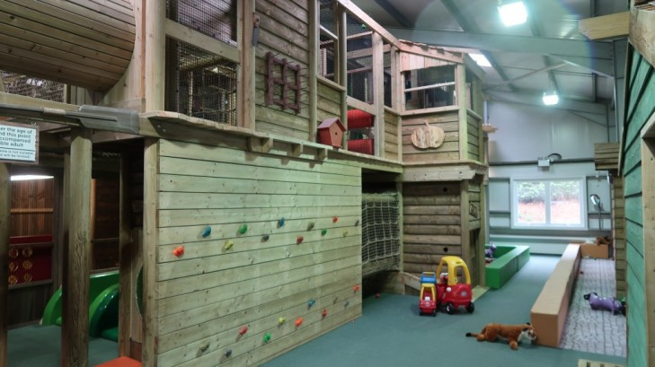 indoor play area aMaizin! adventure park jersey