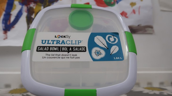 locksy ultraclip salad bowl