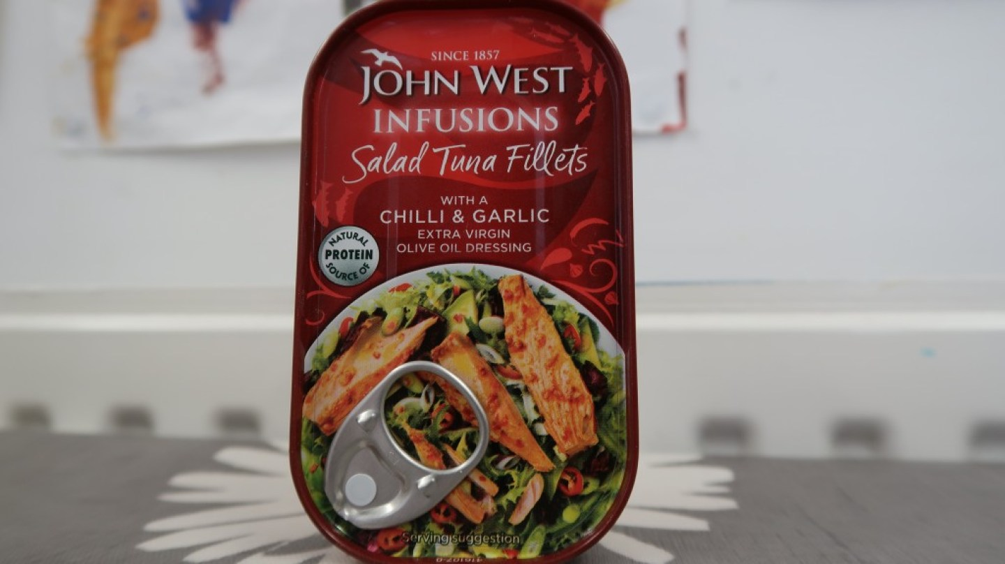 John West tuna infusions