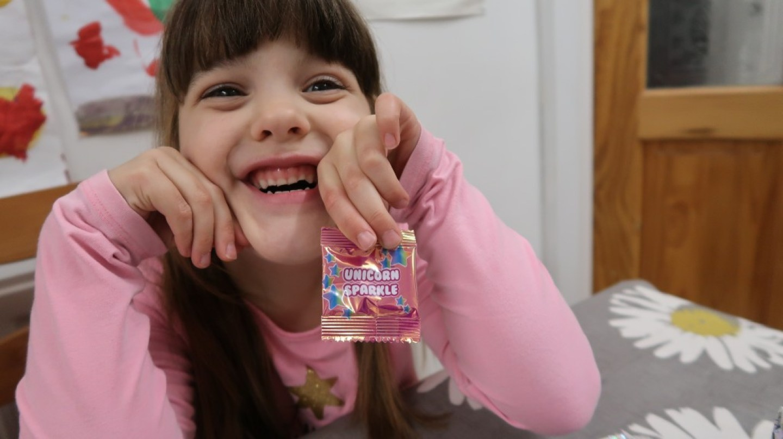 packet of unicorn sparkle