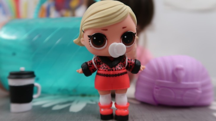 lol doll as if baby with accessories