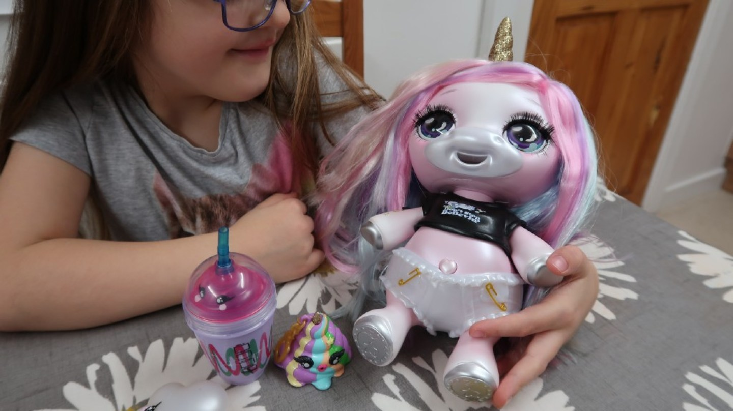 unicorn poopsie slime doll