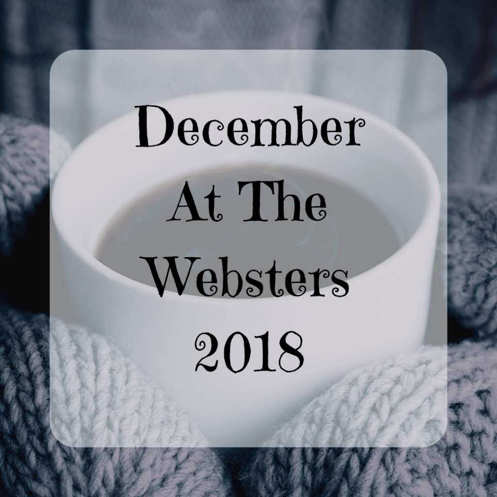 December At The Websters Monthly Round Up {2018}