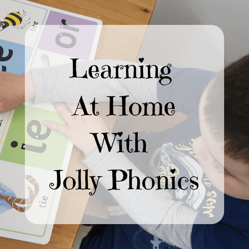 Learning At Home With Jolly Phonics {Review}