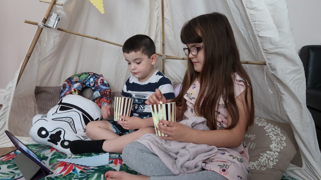 Building A Cosy Indoor Blanket Fort With Time4Sleep