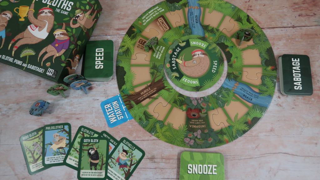 Super Slow Sloths Board Game {Review}