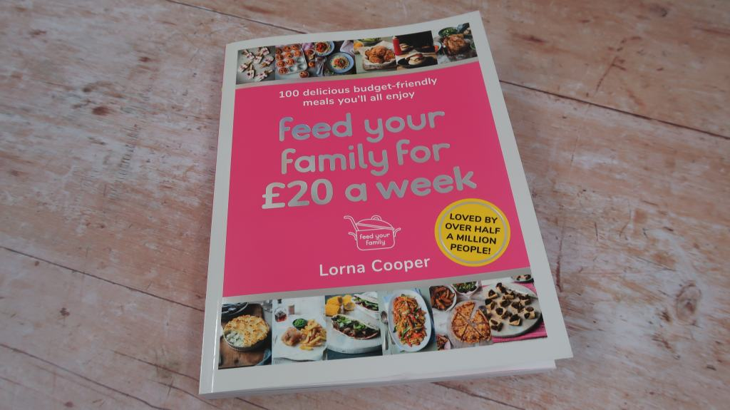Feed Your Family For £20 A Week Book {Review}