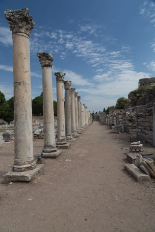 Ephesus - behind the Library of Celsus