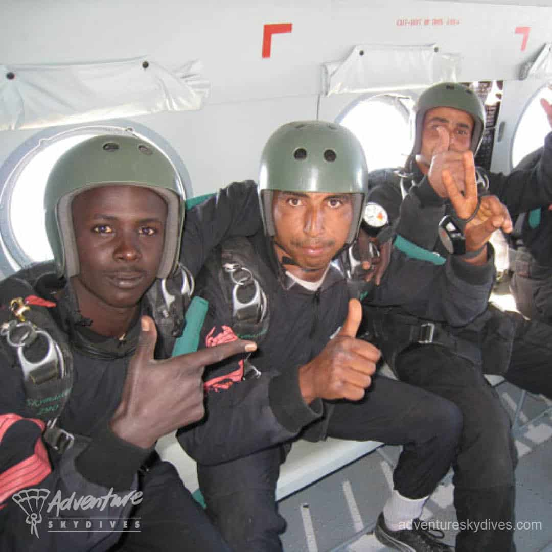 Soldiers in Aircraft