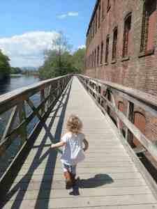 the bridge to the marsh