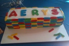 Legos Birthday Cake