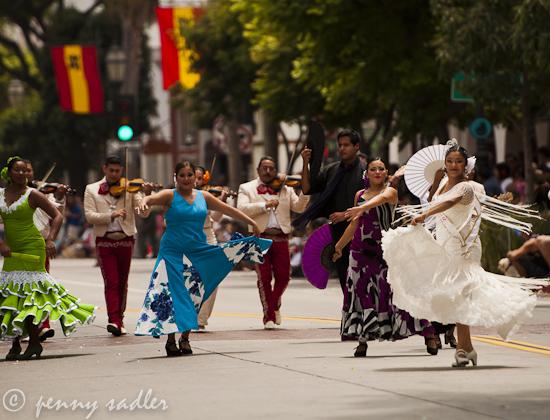 Fiesta Santa Barbara ©pennysadler