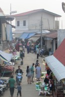The morning market in Mae Salong.