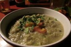 Smokey vegetable soup