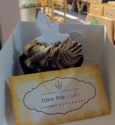 Not a brownie, but these guys do a mean cupcake. Stuffed with a Lindt chocolate they were a true Halloween treat.