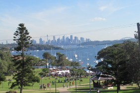 Orange Valley Wine & Food Market we happened across at Watsons Bay. We bought some delicious taramasalata here!