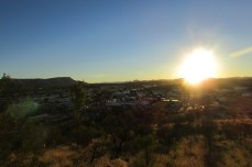 Looking out over Alice Springs from Signal Hill