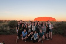 My fellow explorers of the Outback for the WayOutback Tour