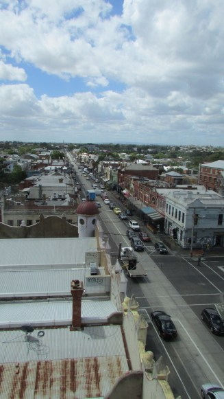 Fitzroy from above