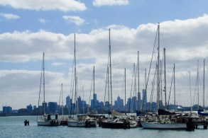 A view of Melbourne's CBD From the shores of Williamstown