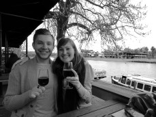 A glass or two along the Yarra River