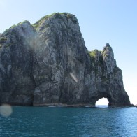 The hole in the rock, Bay of Islands