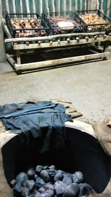 The hangi pit