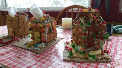 Hansel & Gretel worthy gingerbread houses