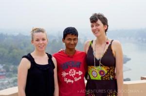 Shiva, Carrie and Lauren