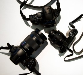 Each presenter was provided with a Samsung NX camera and lenses for Photokina 2012