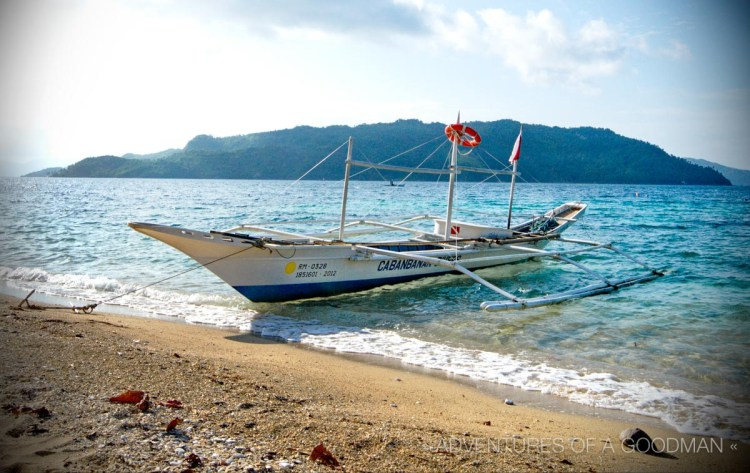 Our boat from Cabanbanan Resorts to Romblon Town Pier