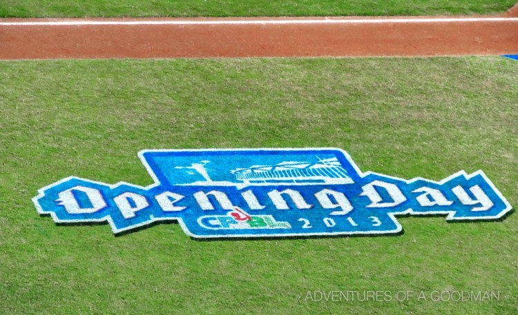 CPBL Opening Day Logo