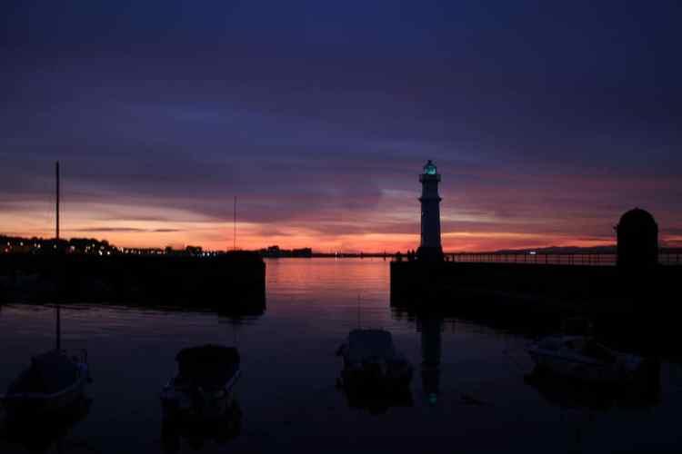 Newhaven Harbor - Photo by Ewan McIntosh