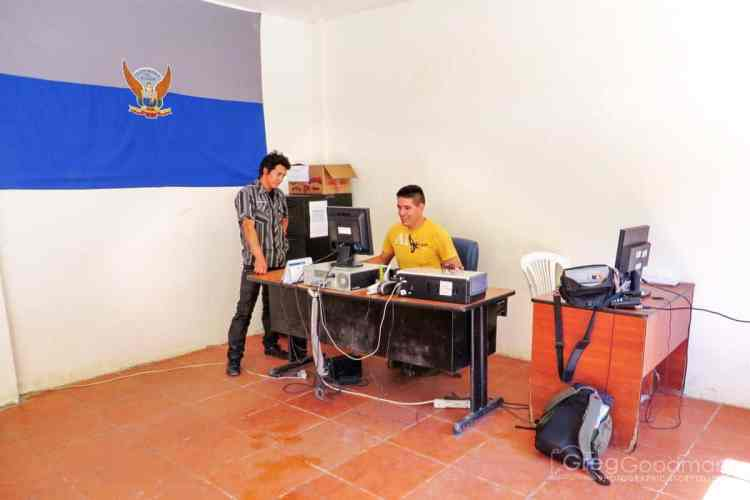 Despite entering our information into their computer system, the Ecuadorian government had no record of our entry a month later when we tried to leave. But that's a whole other story...