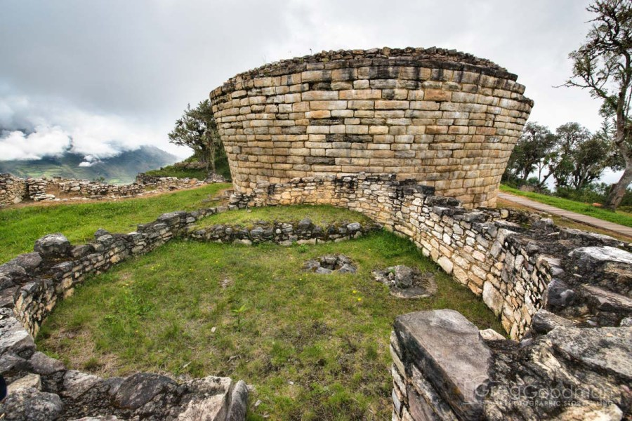 La Atalaya is a turret structure located at the northern end of Kuelap.