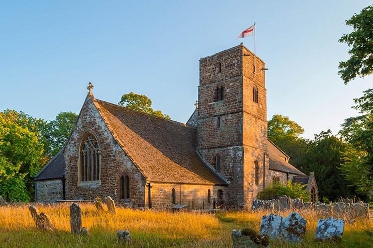 St Augustine Church in Canford Magna, Dorset. (Photography by Jack Pease