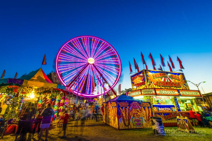 Tripod day at the Sonoma County Fair is an incredibly popular event in the local photography community