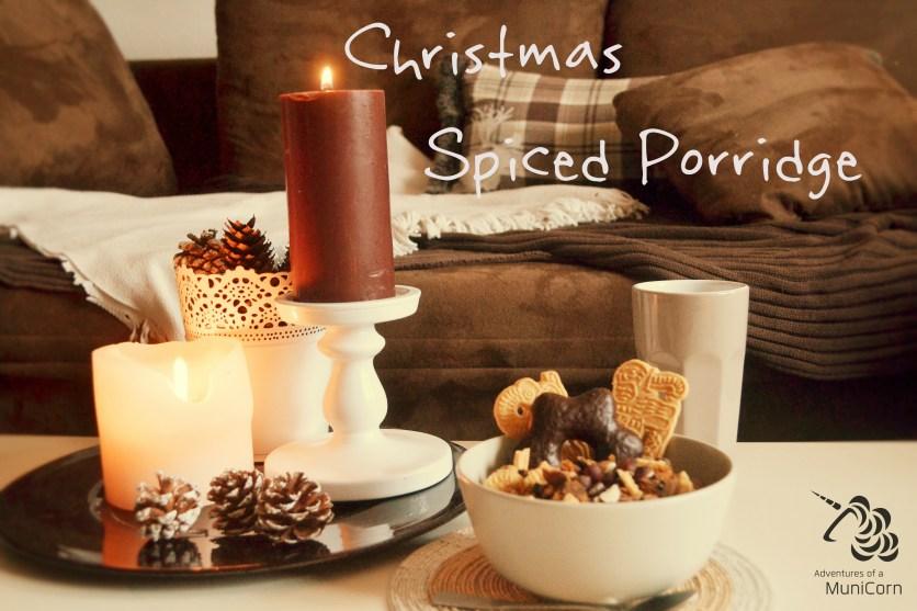 christmas spiced porridge