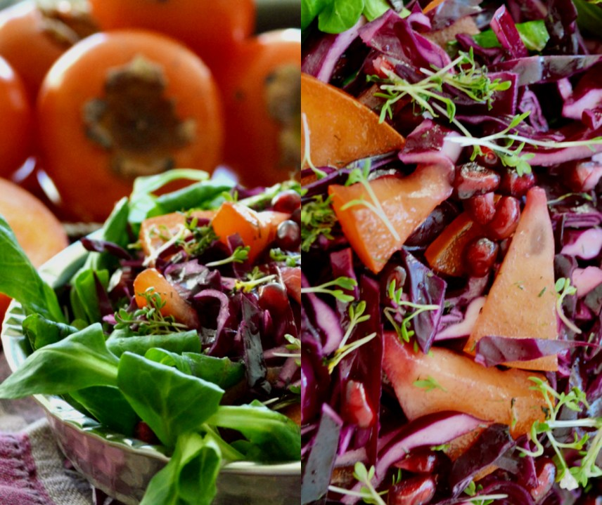 red cabbage salat