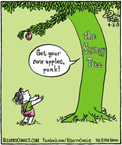 The Stingy Tree