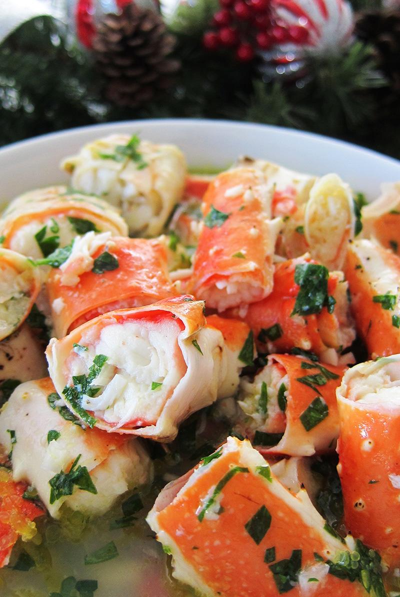 Crab Salad (Paleo, AIP, Whole 30)