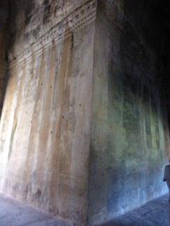 Huge slabs of stone