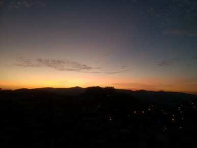 Sunrise, Taxco de Alarcon, Mexcio