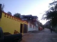 Courtyard walls, Ocotito, Mexico