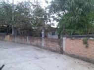 Walled courtyard, Ocotito, Mexico