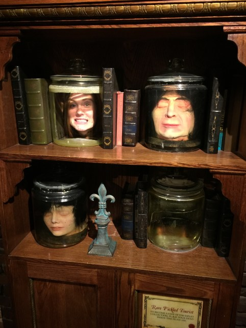 Heads in a jar