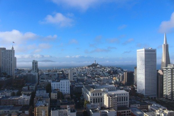 View from the 34th Floor Grand Hyatt San Francisco