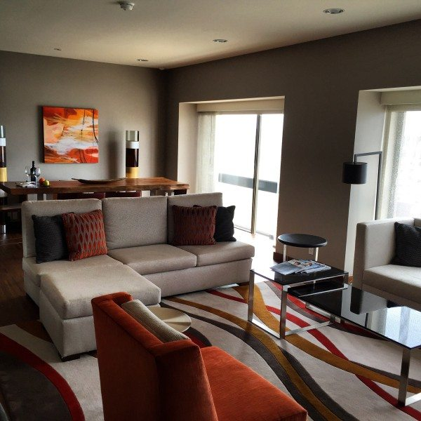 A suite in the Grand Hyatt San Francisco