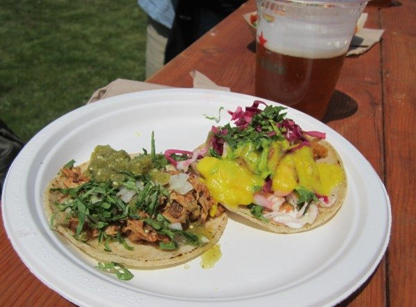 Tacos from Tacolicious