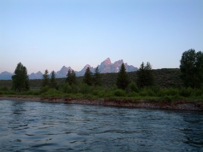 Sunrise Float Trip, Grand Teton